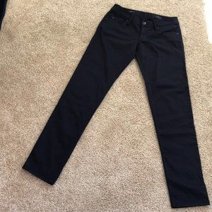 LILLY PULITZER Size 2 Black Skinny Cotton Jeans